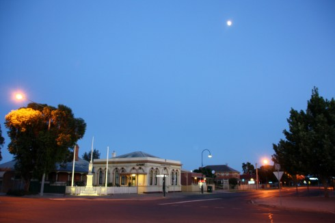 The post office at Wentworth, NSW. Photo: Erle Levey