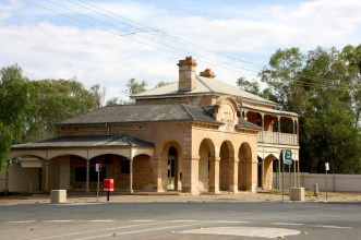 The old post office at Wilcannia, outback NSW. Photo: Erle Levey