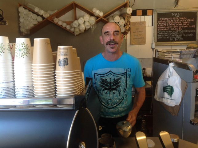 Coffee at North Bondi.
