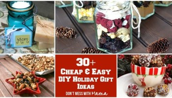 50 diy christmas gift ideas homemade holiday gifts with 30 cheap and easy diy holiday gifts negle Image collections