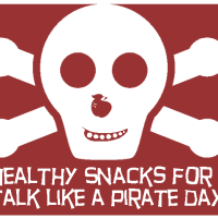 Healthy Snacks for Talk Like a Pirate Day