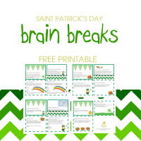 St. Patty's Day Brain Breaks