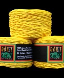 Hemp Yarn Yellow