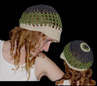 Summer Net Hemp Hat