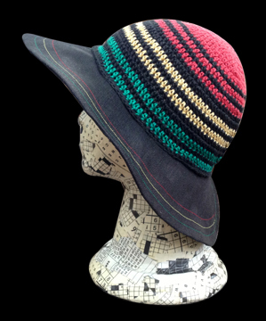 Hemp Rasta Sun Hat