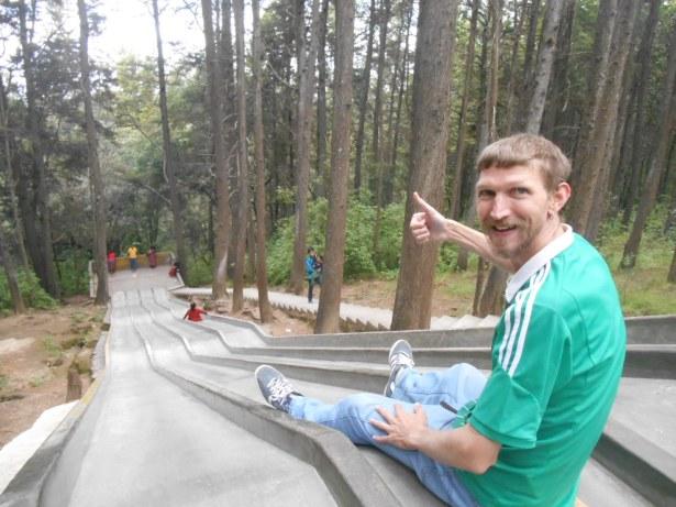 Hang on for a bumpy ride: whackpacking in Guatemala, Xela