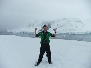 Jonny Blair backpacks his way to Antarctica living a lifestyle of travel