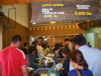 paraguay all you can eat buffet asuncion