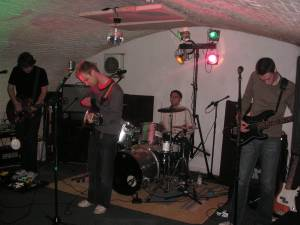 Jonny Blair was manager of rock band the Waves in 2006