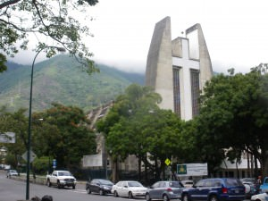 Church in Altamira in Caracas near Suriname Embassy