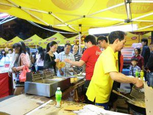 stinky tofu in Hong Kong at night markets