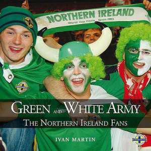 Jonny Blair of SOENISC in the Green and White army book in 2008