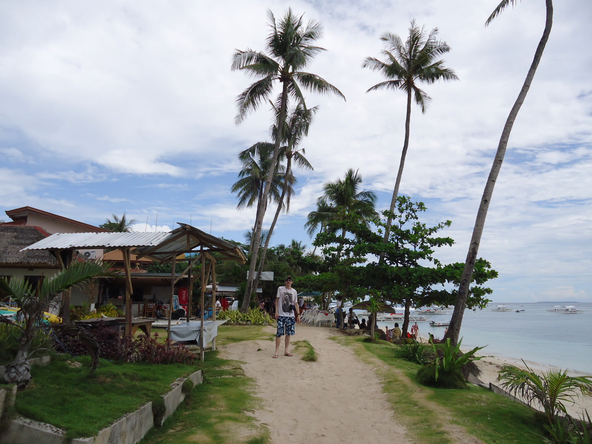Language In 45 And 47 Stella Street: Alona Beach, Panglao Island, The Philippines