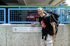 Jonny Blair in Lam Tin