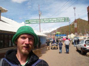 At the Bolivia Peru border Desaguadero in 2010
