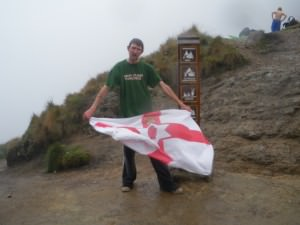 Jonny Blair on Inca Trail Peru