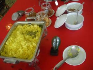 Indonesian Yellow Rice in Yogyakarta