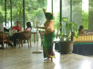 Dancing in Yogyakarta Indonesia