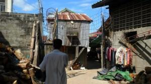 Cambodian fishing village