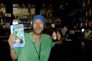 Atlas beer in Panama City Casco Antiguo