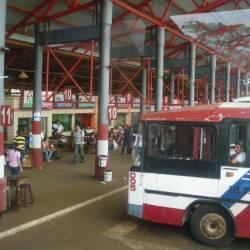 Bus in Asuncion Paraguay