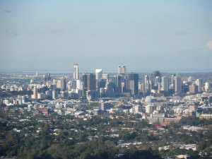 Brisbane from Mount Cootha