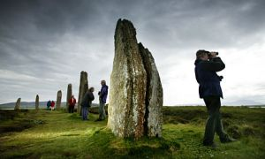 Westray island Orkneys Scotland