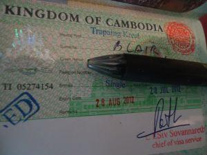 cambodian visa trapaing kreal