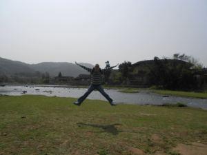 jonny blair jumping in fujian china