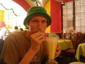 milkshake at santa clara pique a lo macho bolivia