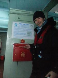 postbox at port lockroy