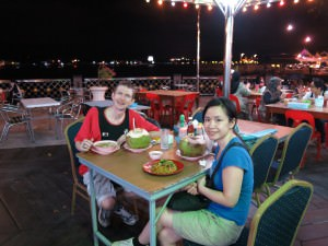 brunei waterfront restaurant