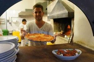 turner barr pizza in rome