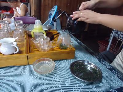 tea in little likeng china