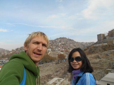 ankara citadel views