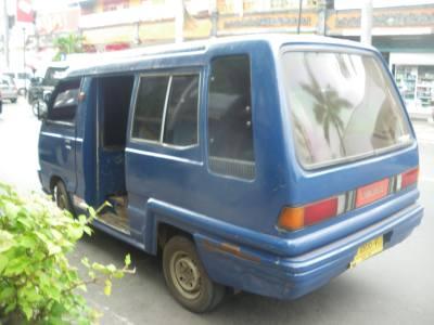 blue bemos singaraja