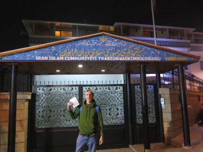 iran visa trabzon turkey