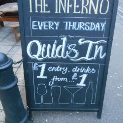 pound a drink inferno bournemouth