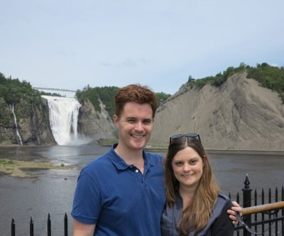 World Travellers: Carmen and Dave in Quebec City, Canada