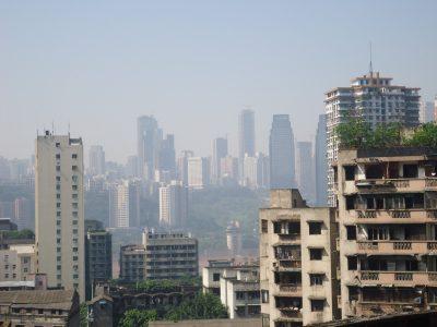 chongqing skyline china