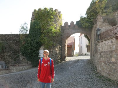 gate entrance sighnaghi