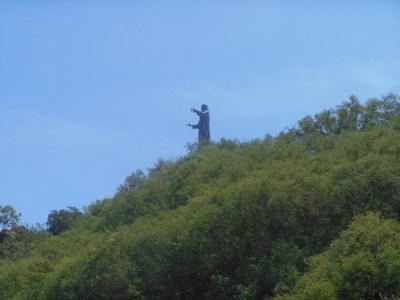jesus statue dili