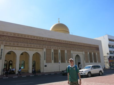 backpacking in Dubai mosques