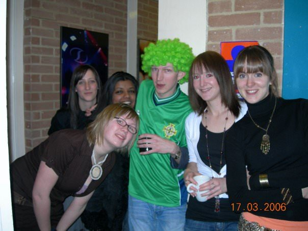 Happy student times at Bournemouth University.