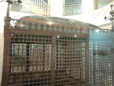 The old Imam Reza chamber.