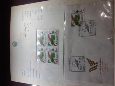 Stamps in the museum