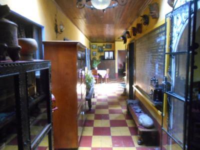 The cosy interior decor of the Posada Belen Museo Inn