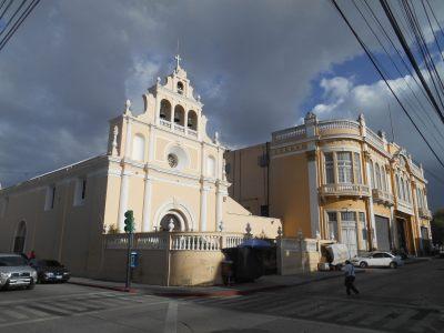 A church just round the corner from Posada Belen