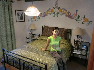 Our bedroom at the Hotel Villas Casa Morada - San Cristobal de las Casas Mexico