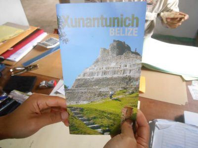 Our visit to Xunantunich in Belize.